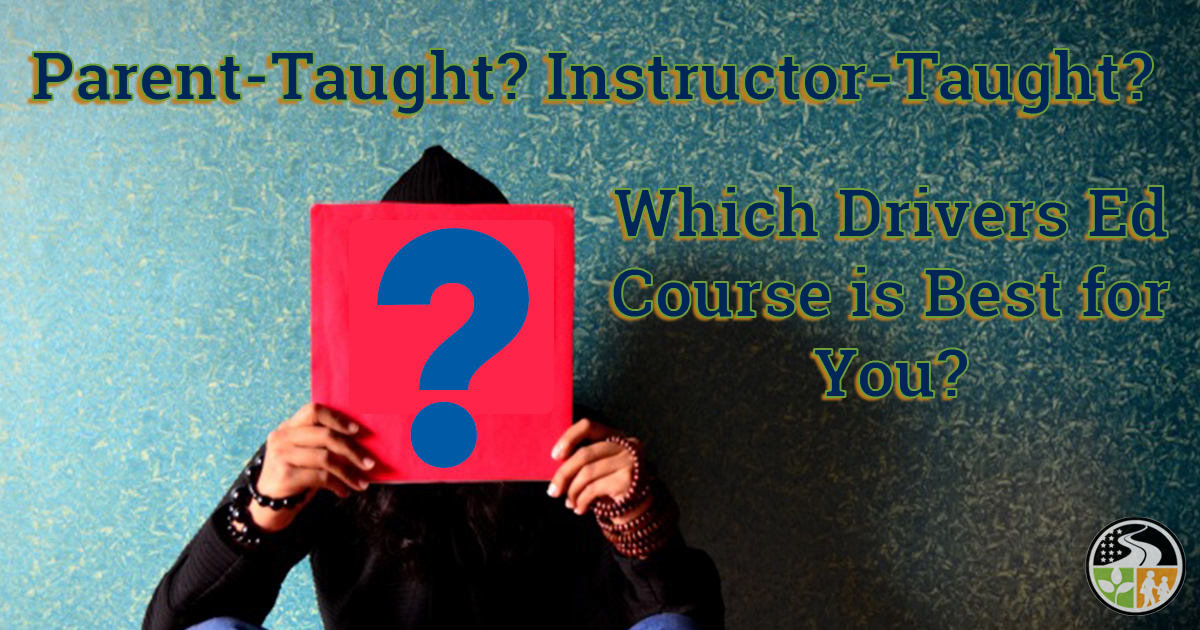 Confused over parent-taught or instructor-taught course.