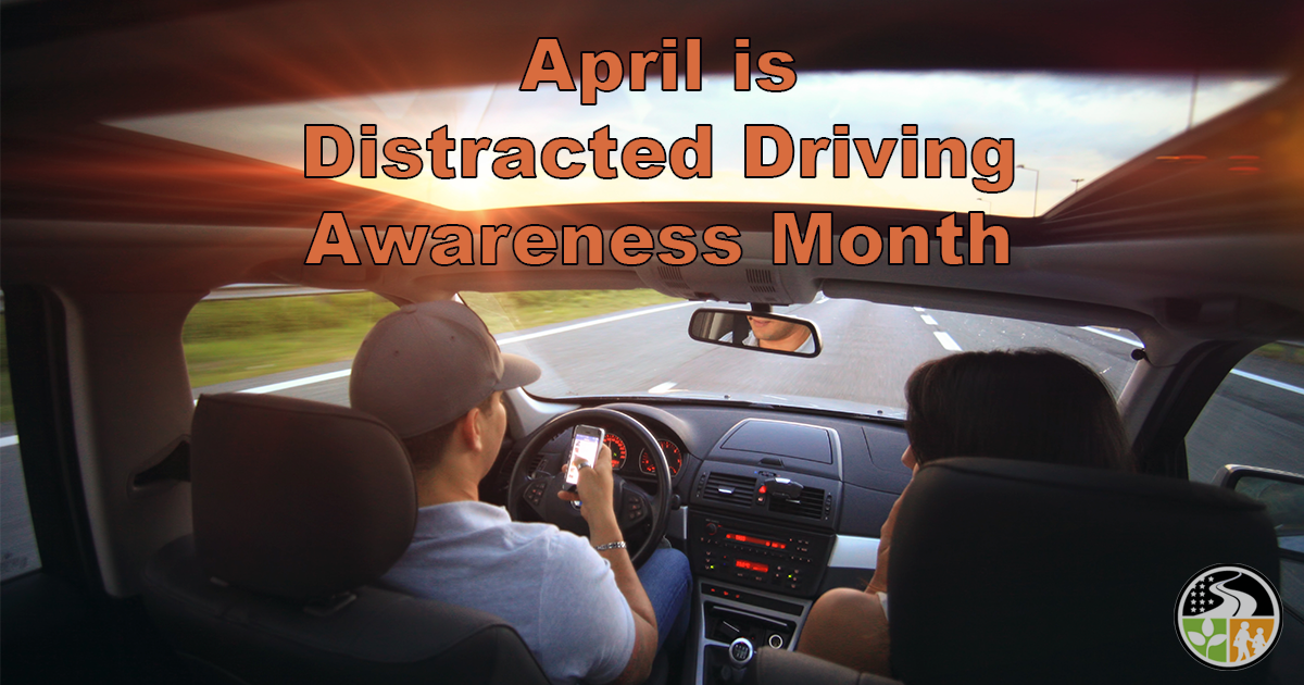 A distracted driver
