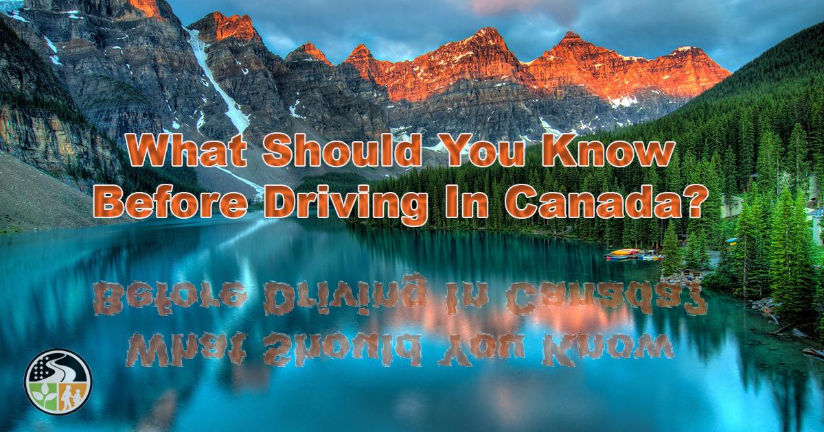 Driving in Beautiful Canada