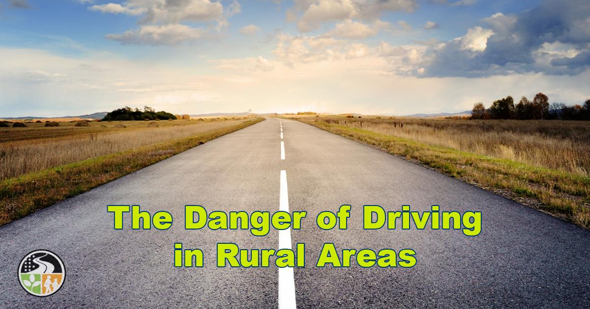 Open, rural roads
