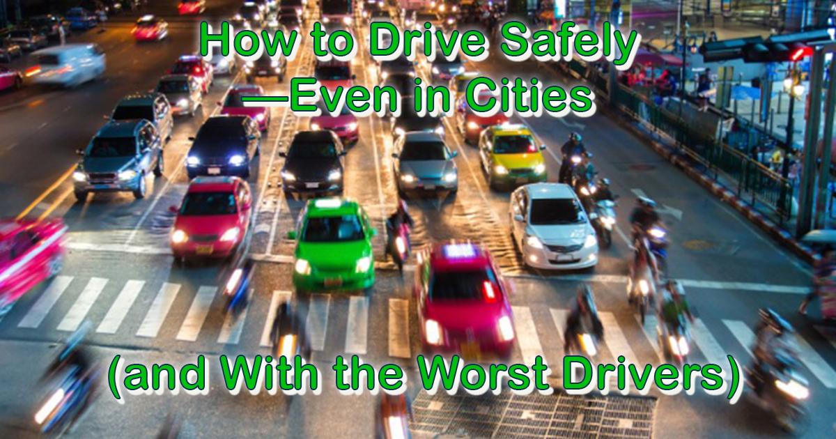 Heavy city traffic